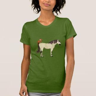 White Horse & Owl Tee Shirt