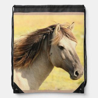 White Horse Pic Bag Rucksacks