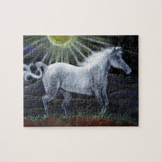 White Horse Puzzle With Gift Box