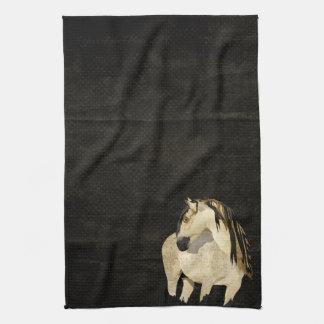 White Horse Towel