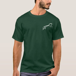 White Horse (Uffington Castle) - Pocket Motif T-Shirt