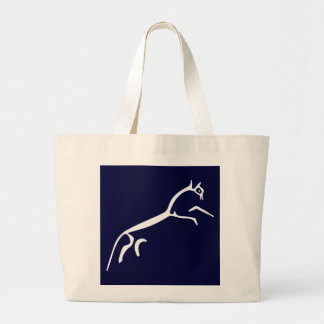 White Horse (Uffington Castle) Jumbo Tote Bag