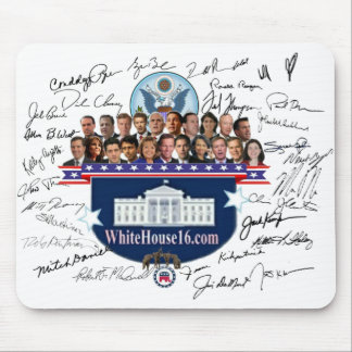 White House 2016 Conservative Signature Mousepad