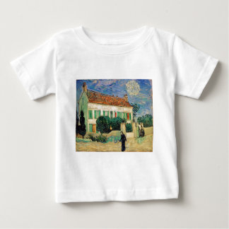 White house at night - Vincent van Gogh Baby T-Shirt