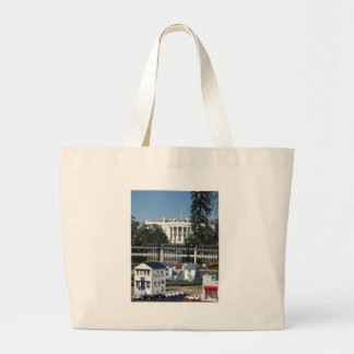 white house christmas decorations tote bag