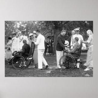 White House Garden Party 1924 Print