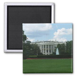 White House Square Magnet
