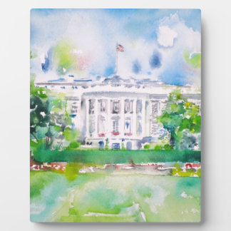 white house plaque