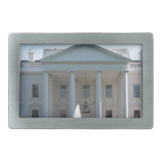 White House Washington DC Rectangular Belt Buckles