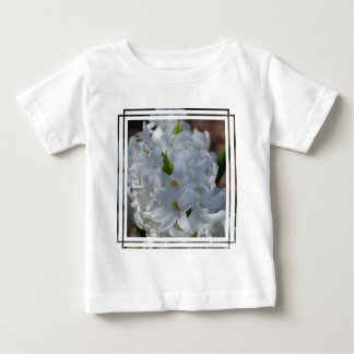 White Hyacinth Flowers Shirt