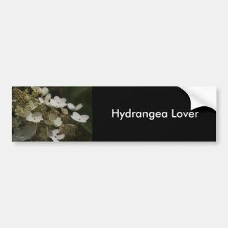 White Hydrangea Bumper Sticker