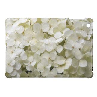 White Hydrangea Flowers Case For The iPad Mini