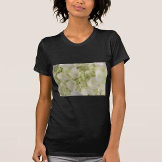 White hydrangea t shirt