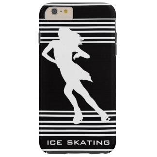 White Ice Skating Design iPhone 6 Case Tough iPhone 6 Plus Case