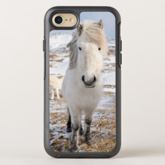 White Icelandic Horse, Iceland OtterBox Symmetry iPhone 8/7 Case