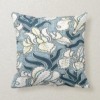 White Iris  Cushion/ throw pillow