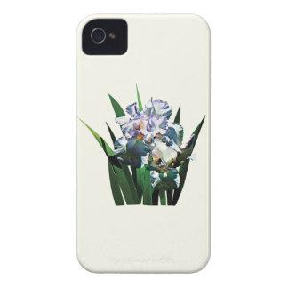 White Irises iPhone 4 Cover