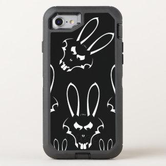 White J. Rabbit Logo Phone OtterBox Defender iPhone 7 Case