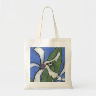 White Jasmine Tote Bag