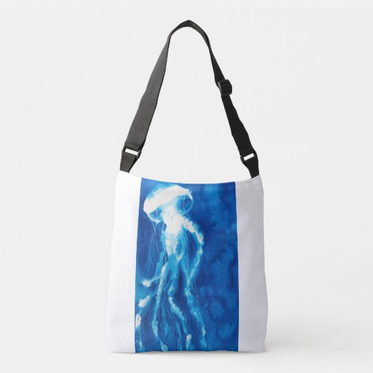 White Jelly Fish Crossbody Bag