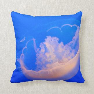 white jellyfish cushions