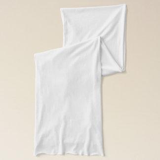 White Jersey Scarf