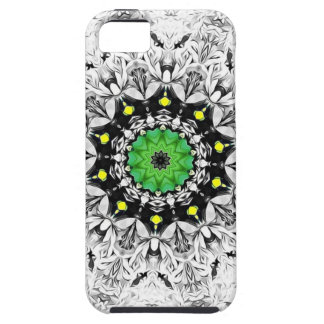 White Kaleidoscope Tough iPhone 5 Case