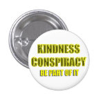 white kindness conspiracy pins