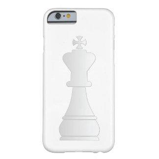 White king chess piece barely there iPhone 6 case