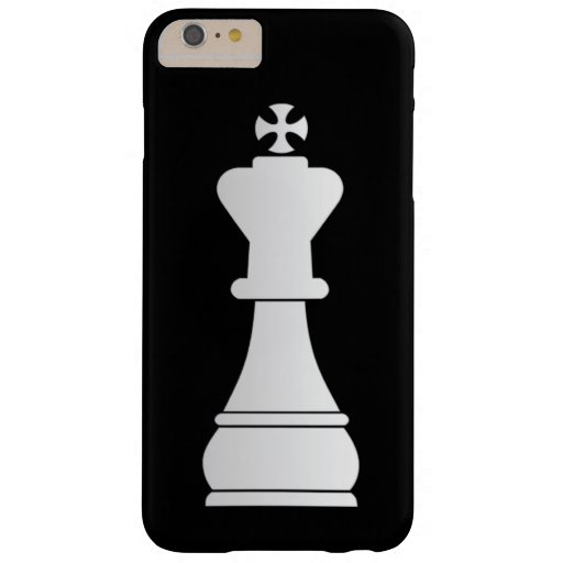 White king chess piece barely there iPhone 6 plus case