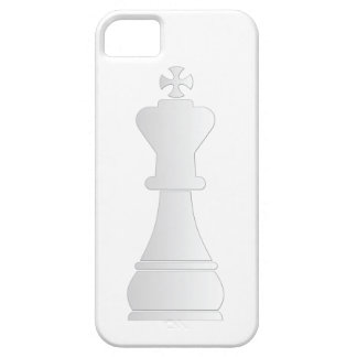 White king chess piece iPhone 5 cases