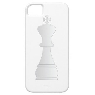 White king chess piece iPhone 5 cover