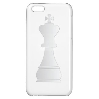 White king chess piece iPhone 5C cases