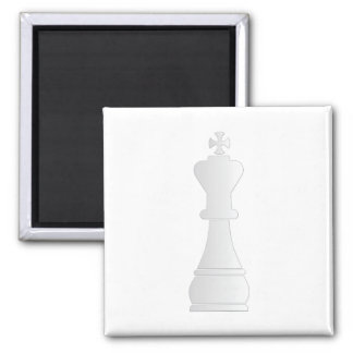 White king chess piece magnets