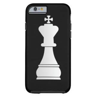 White king chess piece tough iPhone 6 case