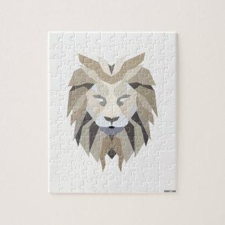 White King Lion Jigsaw Puzzle