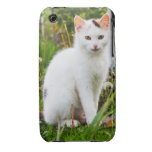White Kitten Barely There™ iPhone 3G/3GS Case iPhone 3 Cases