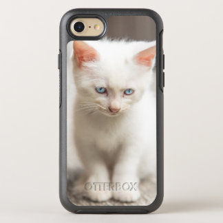 White Kitten OtterBox Symmetry iPhone 8/7 Case