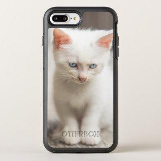 White Kitten OtterBox Symmetry iPhone 8 Plus/7 Plus Case