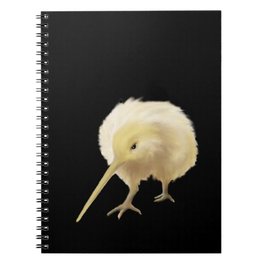 White Kiwi Notebook