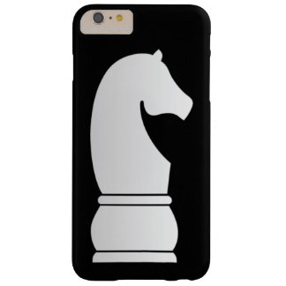 White Knight Chess piece Barely There iPhone 6 Plus Case