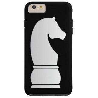 White Knight Chess piece Tough iPhone 6 Plus Case