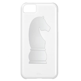White knight chess piece cover for iPhone 5C