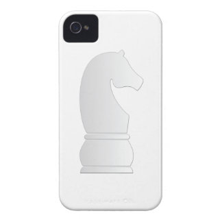 White Knight Chess piece iPhone 4 Cases
