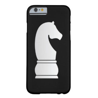 White knight chess piece barely there iPhone 6 case