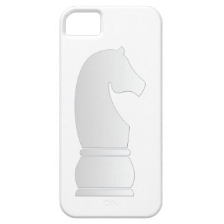 White knight chess piece iPhone 5 case