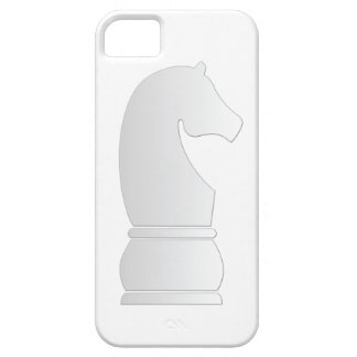White Knight Chess piece Case For The iPhone 5