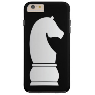 White Knight Chess piece Tough iPhone 6 Plus Case
