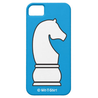 White Knight, iphone case, chess Piece iPhone 5 Case