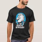 White Knight Logo Sky Blue T-Shirt